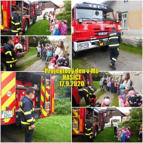 Projektový den s hasiči